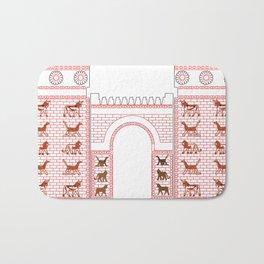 Ashtar Assyrian Gate Bath Mat