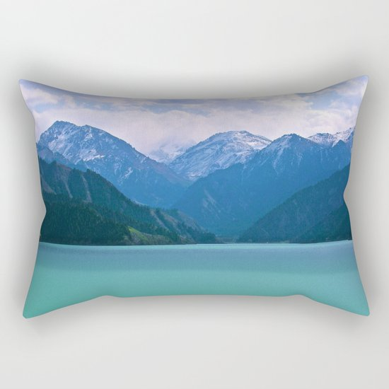 Lake t1me Disposition Rectangular Pillow