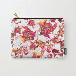 Swirling Movement Artistic Pattern Carry-All Pouch