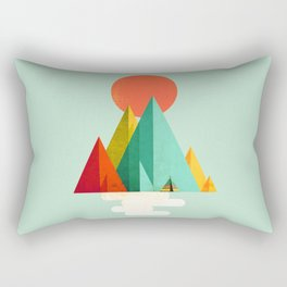 Little Geometric Tipi Rectangular Pillow
