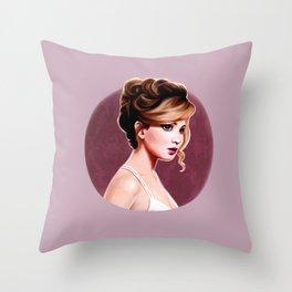 Jennifer  Lawrence  Throw Pillow