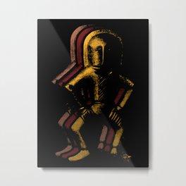 Ancient Spaceman Metal Print