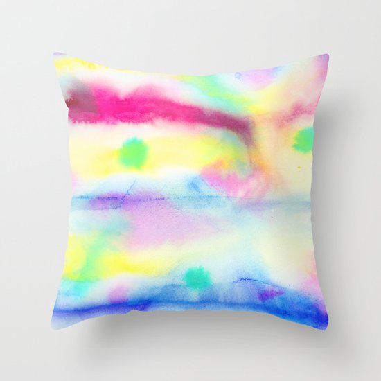 Fete (Origin) Throw Pillow