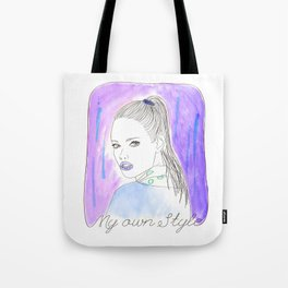My own style Tote Bag
