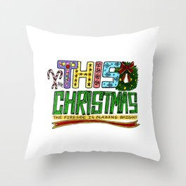 This Christmas Throw Pillow