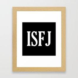 ISFJ Framed Art Print