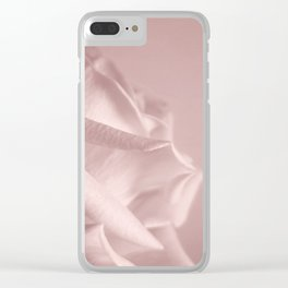 Rosy Blush Clear iPhone Case