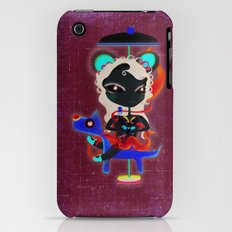 Doll  little dog carrousel and cute butterfly panda bear toy Slim Case iPhone (3g, 3gs)