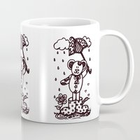 Umbrella Bear! Mug
