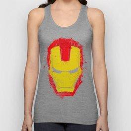 Iron Man splash Unisex Tank Top