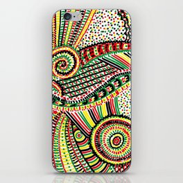 rasta iPhone Skin