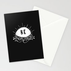 Be Otherworldly (wht) Stationery Cards