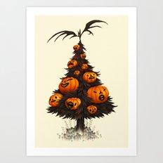 Hallow Tree Art Print