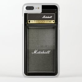 Gray amp amplifier Clear iPhone Case