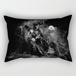 Little Loki and The Jellyfish 2 Rectangular Pillow
