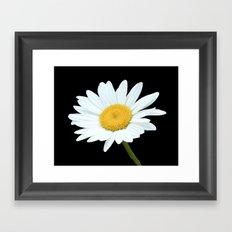 Pure White Framed Art Print