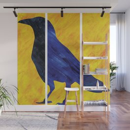 Color Crow Wall Mural