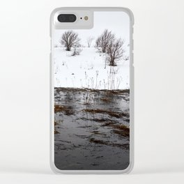 Winter Flood Clear iPhone Case
