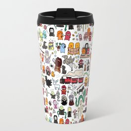 Kawaii Harry Potter Doodle Travel Mug