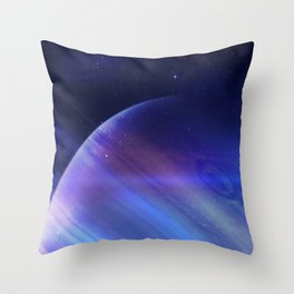 Secrets of the galaxy Throw Pillow