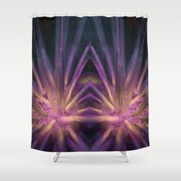 Psychedelic Dandelion Shower Curtain