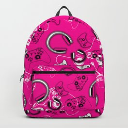 Gamers-Pink Backpack