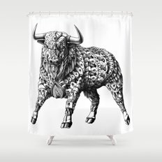 Raging Bull Shower Curtain