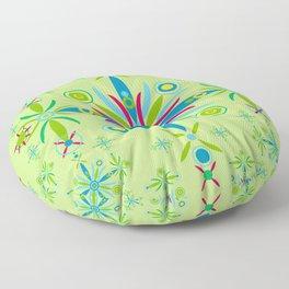 Sicilian Mandala Floor Pillow