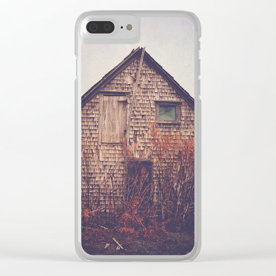 She Created Stories About Abandoned Houses Clear iPhone Case