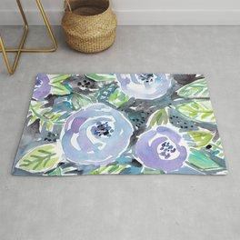 GARDENS OF MONTCLAIR Lavender Floral Rug