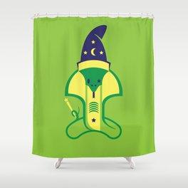 Kobra Kadabra Shower Curtain
