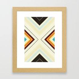 Scratch Harder Framed Art Print