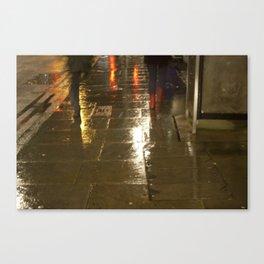 a piece Canvas Print