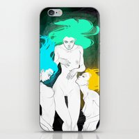 bible iPhone & iPod Skins featuring Neon Bible by Tiweless Wachine