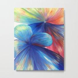 Flowers are Love Metal Print