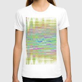 rainbow static T-shirt