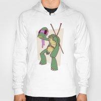 ninja turtle Hoodies featuring Teenage Mutant Ninja Turtle by Deoz World