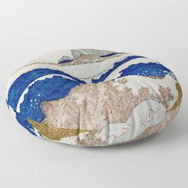 The Coast Searching Floor Pillow