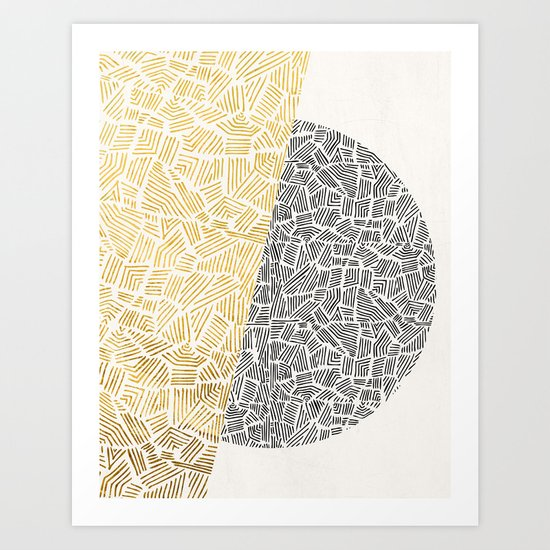 Inca Day & Night Art Print