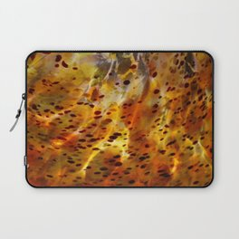 Abstract Red Laptop Sleeve