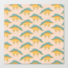 Stegossaur Canvas Print