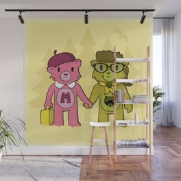 Sam & Suzy Wall Mural