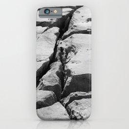 Limestone pavement in the Burren, Ireland iPhone Case