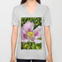 Papaver Somniferum Opium Poppy Unisex V-Neck