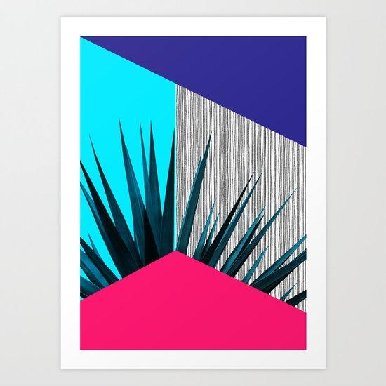 Eclectic Geometry 2 Art Print