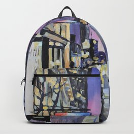 Evening Lights of the Burgh Backpack