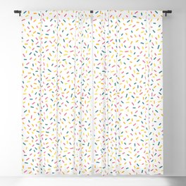 Colorful Party Sprinkles Blackout Curtain