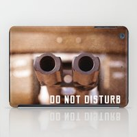 welcome iPad Cases featuring Welcome by digital2real