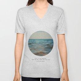 Swim The Sea #2 Unisex V-Neck