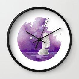 Halong Bay Vietnam Cruise under the Moonlight Wall Clock